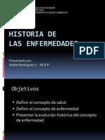 Historia de Las Enfermedades