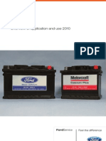 Motorcraft EUROPE Batteries