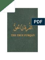 The True Furqan