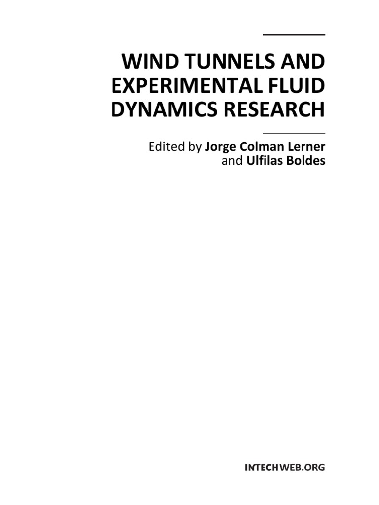 Wind tunnels and experimental fluid dynamics research principal wind tunnels and experimental fluid dynamics research principal component analysis fluid dynamics fandeluxe