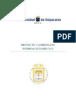 CAMPEONATO INTERFACULTADES Revista Recrea 2012