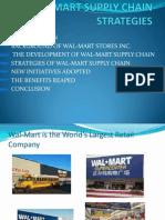 Wal-mart Supply Chain Strategies