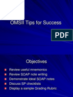 OMSII Tips for Success 2012
