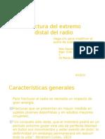 Fractura Del Extremo Distal Del Radio