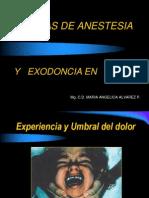 Anestesia y Exodoncia en ODP