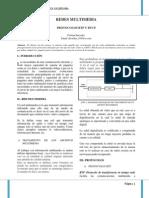 Redes Multimedia Protocolo Rtp y Rtcp
