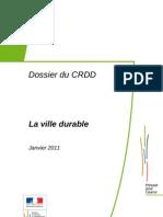 Ville Durable CRDD 01-2011