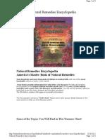 Natural Remedies Encyclopedia