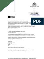 Education Certificates Procedure