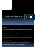 GU_SAP ECC_Éléments d'une fenêtre SAP GUI