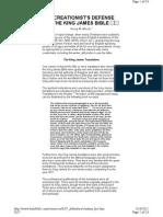 KJV Defenders - Henry M. Morris - Testimony