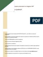 GU_SAP R3_Présentation navigation 10061