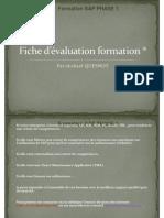 GU_SAP_Fiches évaluation formation phase 1