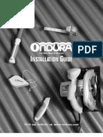 Ondura Installation Guide