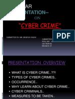83046895 Cyber Crime Full Ppt