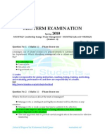 All MidTerm Past Papers MGMT623 Mega File by Muhammad Aatif Qamar