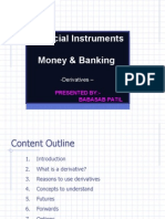 Financial Instruments Derivatives Ppt MBA FINANCE