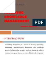 Futuristic Knowledge Management PpT Mba