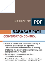 Group Discussion Ppt MBA