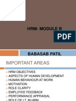 HRM- Module B Ppt Mba
