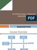 International Financial Management PPT  MBA