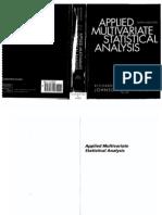 applied multivariate statistics solution manual