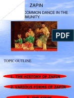 Zapin Dance