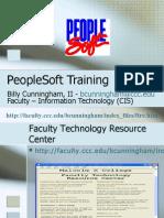 PeopleSoft Training