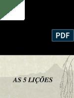 5 licoes