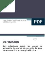 Tipos de Centrales Hidroelectricas