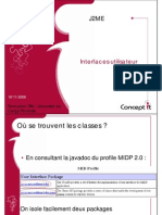 05 J2ME Interface Utilisateur
