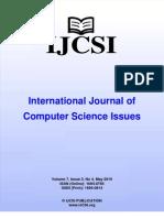 Ijcsi Vol 7 Issue 3 No 4