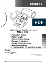 Omron m10-It Manual