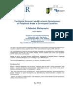 The Digital Economy and Economic Development