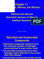 Alkenes, Alkynes, And Addition Reactions