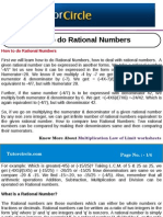How to Do Rational Numbers