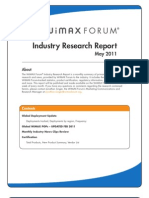 Monthly Industry Report May2011