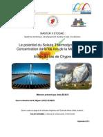 Le potentiel du Solaire Thermodynamique à Concentration dans les îles de la Méditerranée - Etude du cas de Chypre