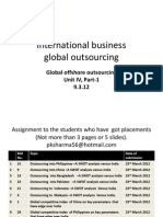 Amity 6 International Business Staistics