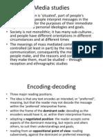 Media Studies - Intro