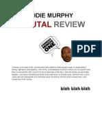 Eddie Murphy Brutal Review