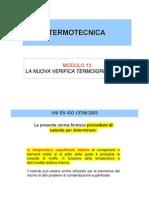 Modulo 13 - La Verifica Termoigrometrica