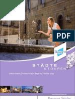 Städte & Touren Sommerbroschüre 2012
