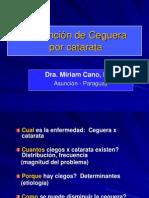 Prevención de Ceguera por Catarata