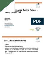 SHARE Anaheim - CICS Performance Primer - DFH0STAT 02102011