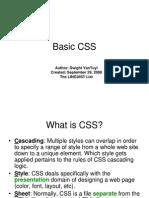 Basic CSS Tutorial