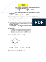 BITSAT 2010 Physics Paper