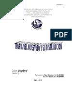 Teoria Del Muestreo y Su Distribucion Estadisita II