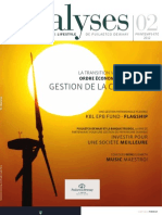 Analyses 02 FR - Le Magazine Financier & Lifestyle de Puilaetco Dewaay Private Bankers