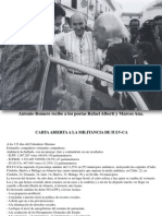 ANTONIO ROMERO,Reflexiones Tras Las Votaciones, PDF